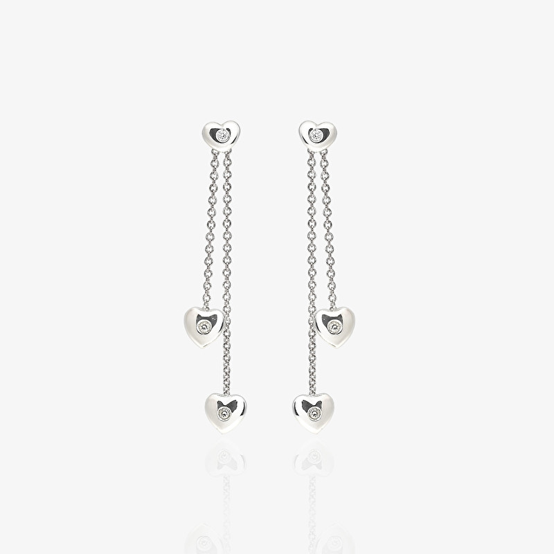 Heart Earrings - LeoPizzo SPA