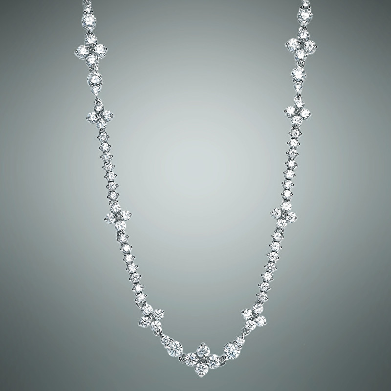Eternity Long Necklace - LeoPizzo SPA