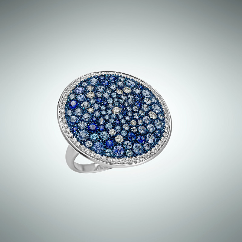 Starry Vault Giotto Ring - LeoPizzo SPA