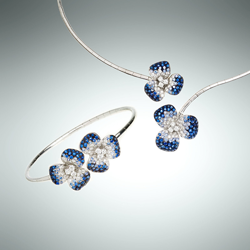 Flora Bracelet And Necklace - LeoPizzo SPA