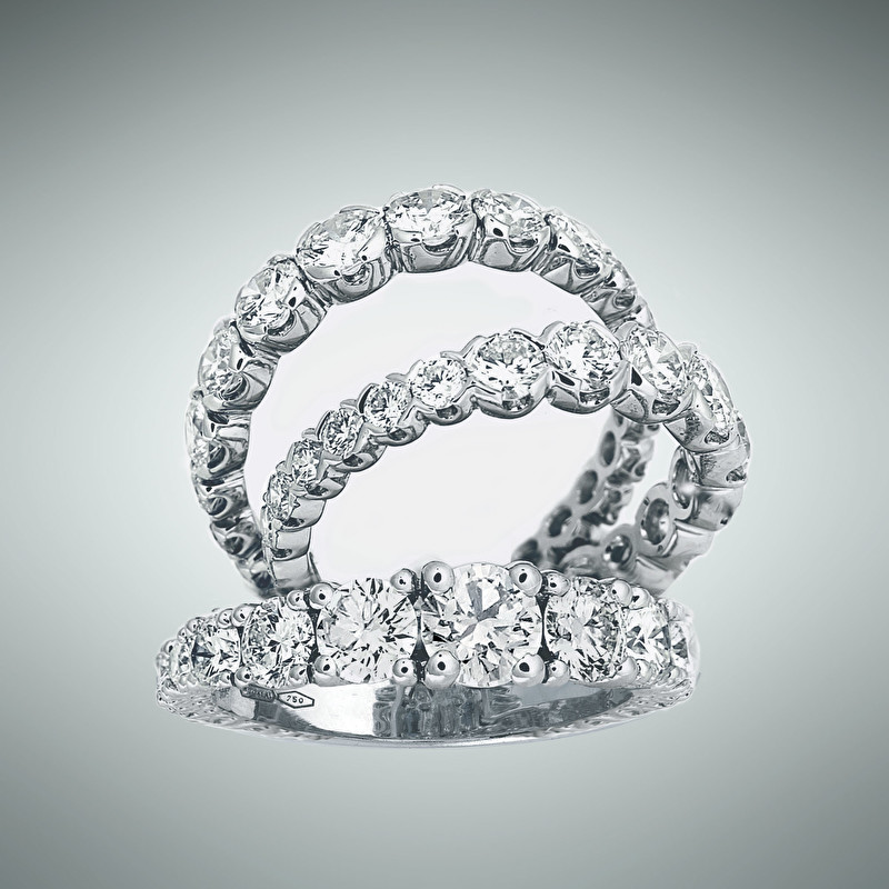 Eternity Diamonds Rings - LeoPizzo SPA