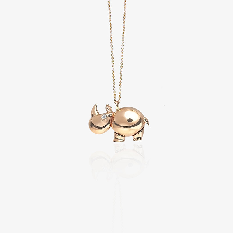 Rhinoceros Necklace - LeoPizzo SPA