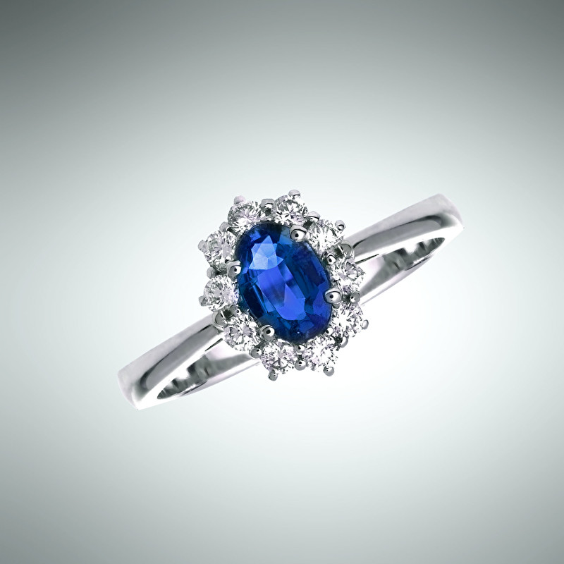 Sapphire Ring - LeoPizzo SPA