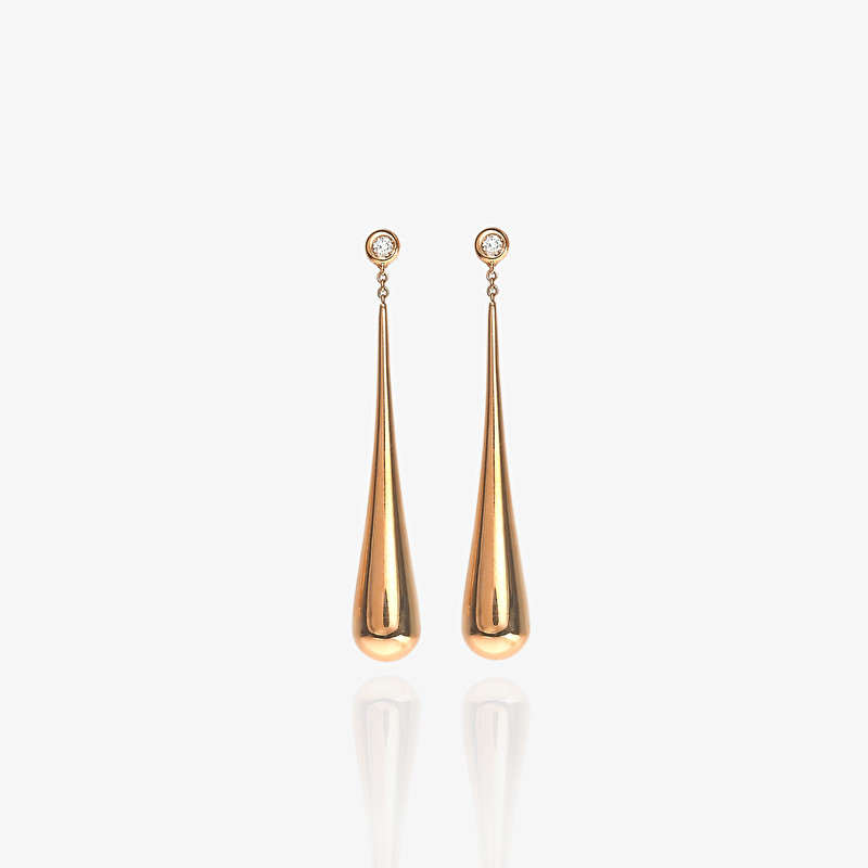 Drop Of Gold Earrings - LeoPizzo SPA