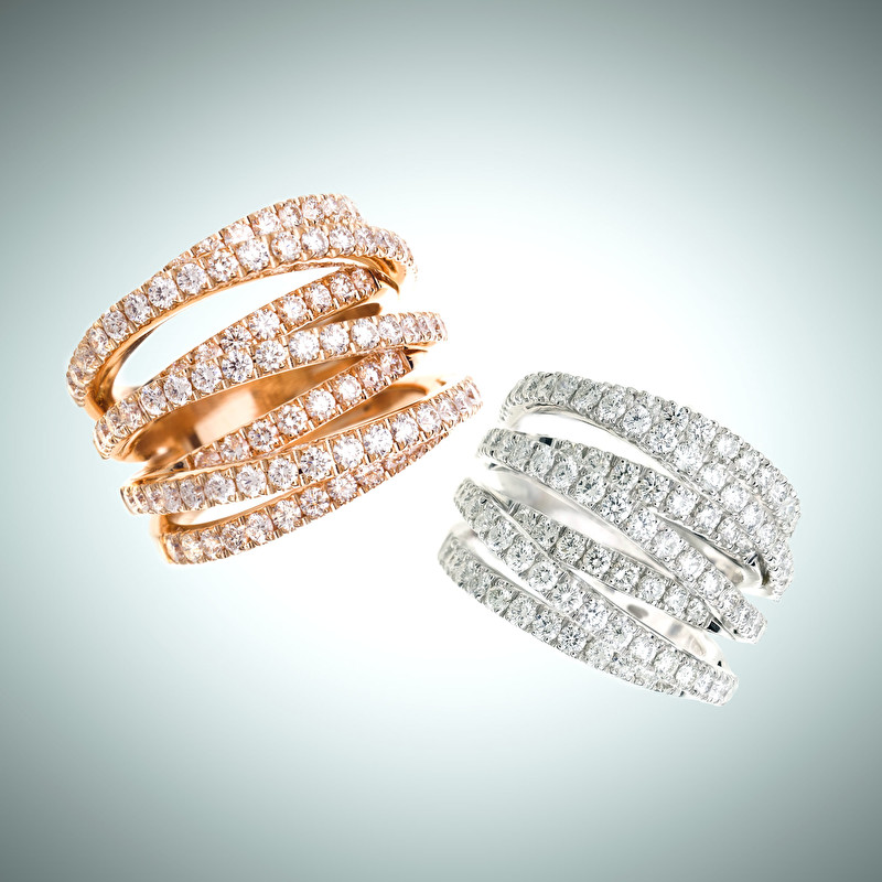 Waves Rings - LeoPizzo SPA