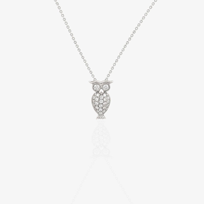 Owl Necklace - LeoPizzo SPA