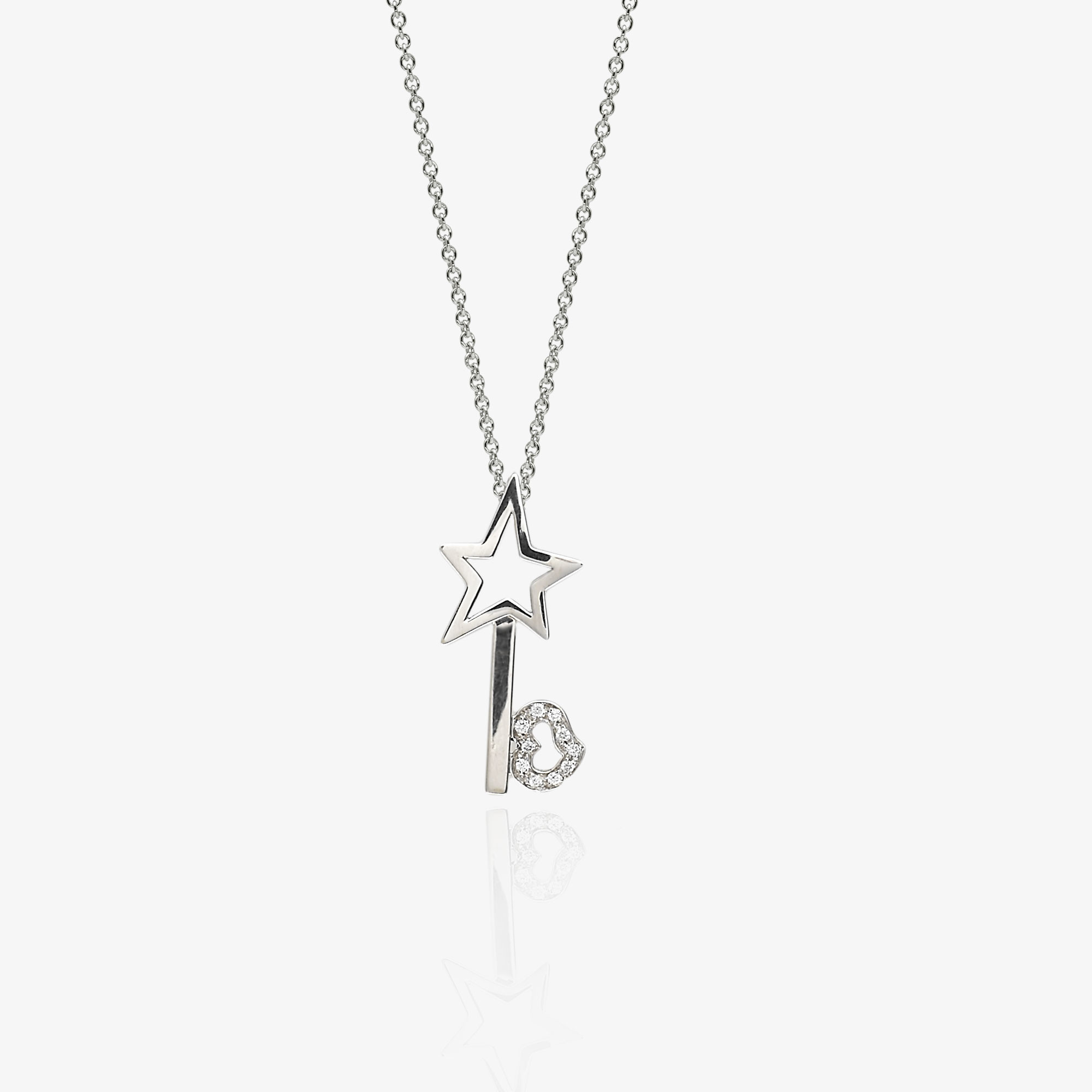 Star-key necklace