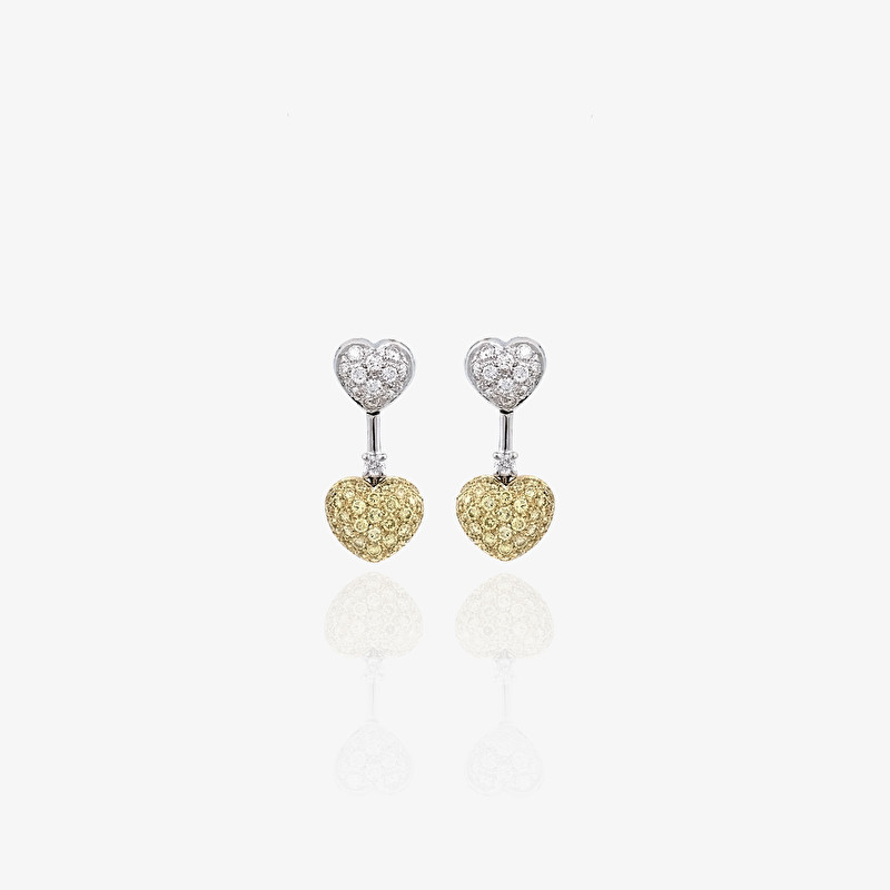 Due Cuori | Un Amore Earrings - LeoPizzo SPA