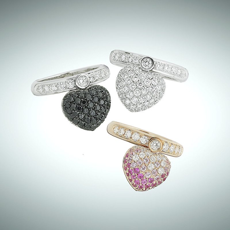Flexible Heart Rings - LeoPizzo SPA