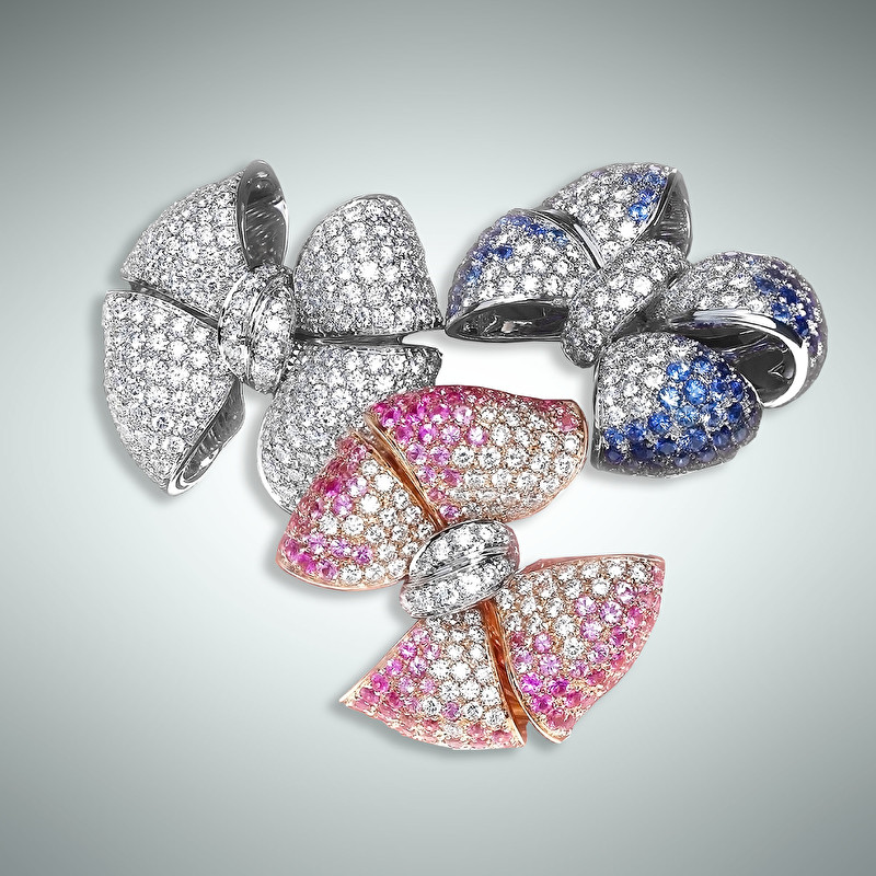 Tris Bow Rings - LeoPizzo SPA