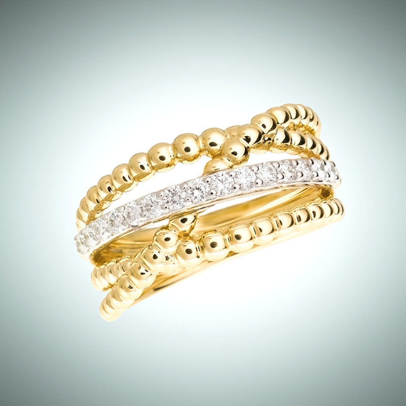 Waves Ring - LeoPizzo SPA