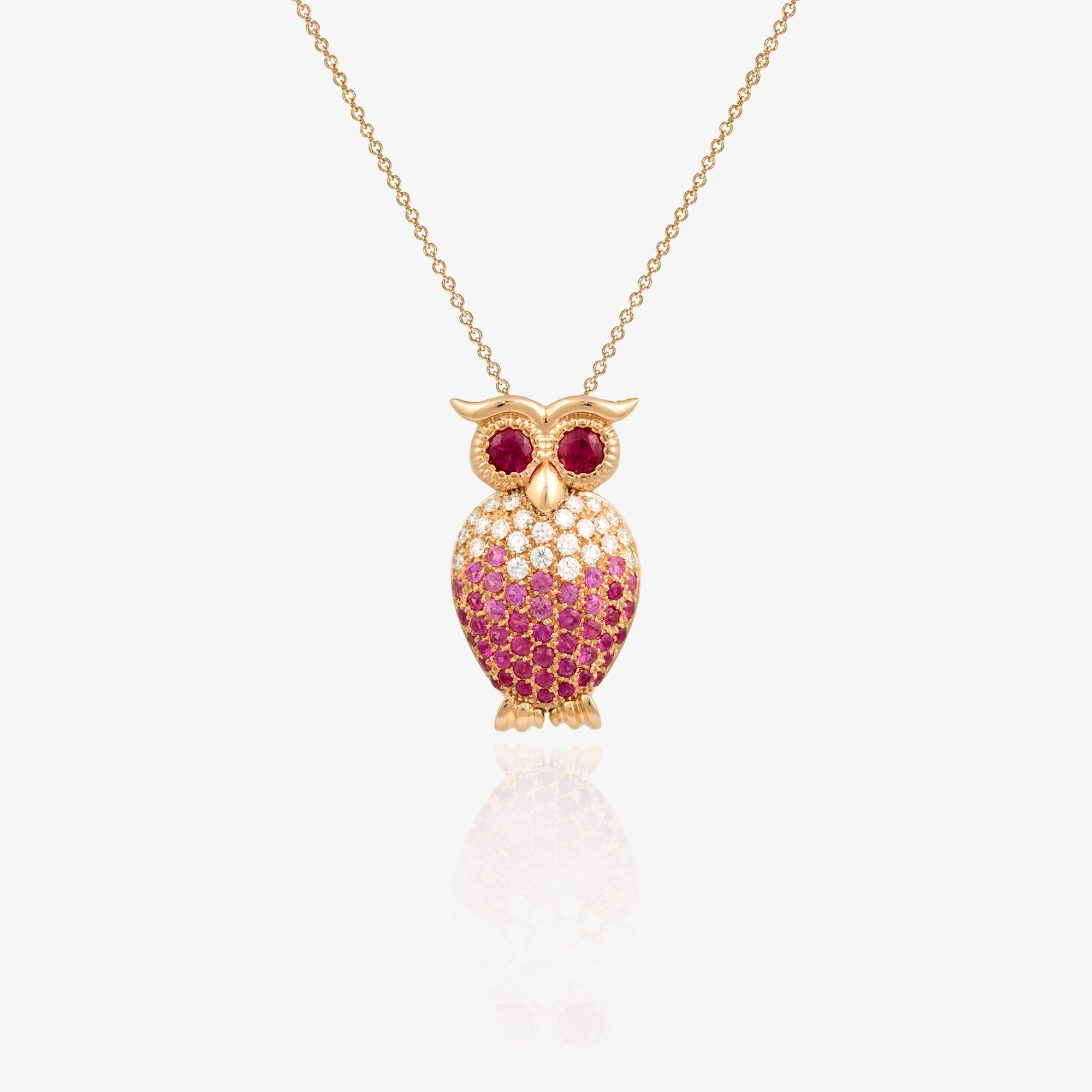 Eagle-owl necklace