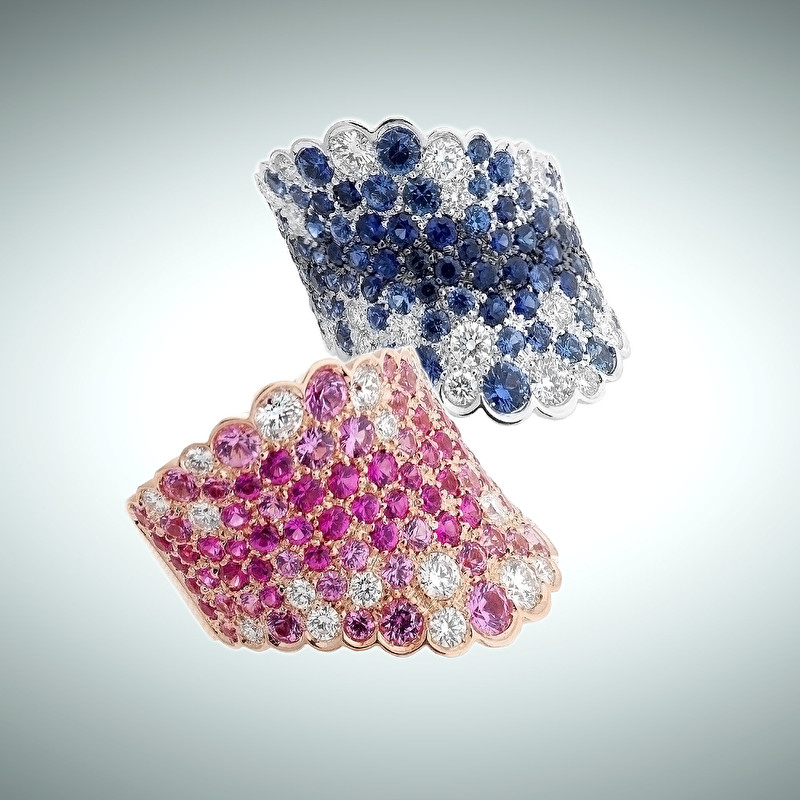 Degradè Rings - LeoPizzo SPA