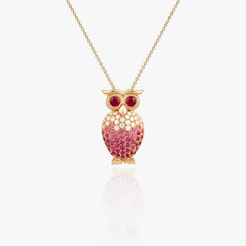 Eagle-owl Necklace - LeoPizzo SPA