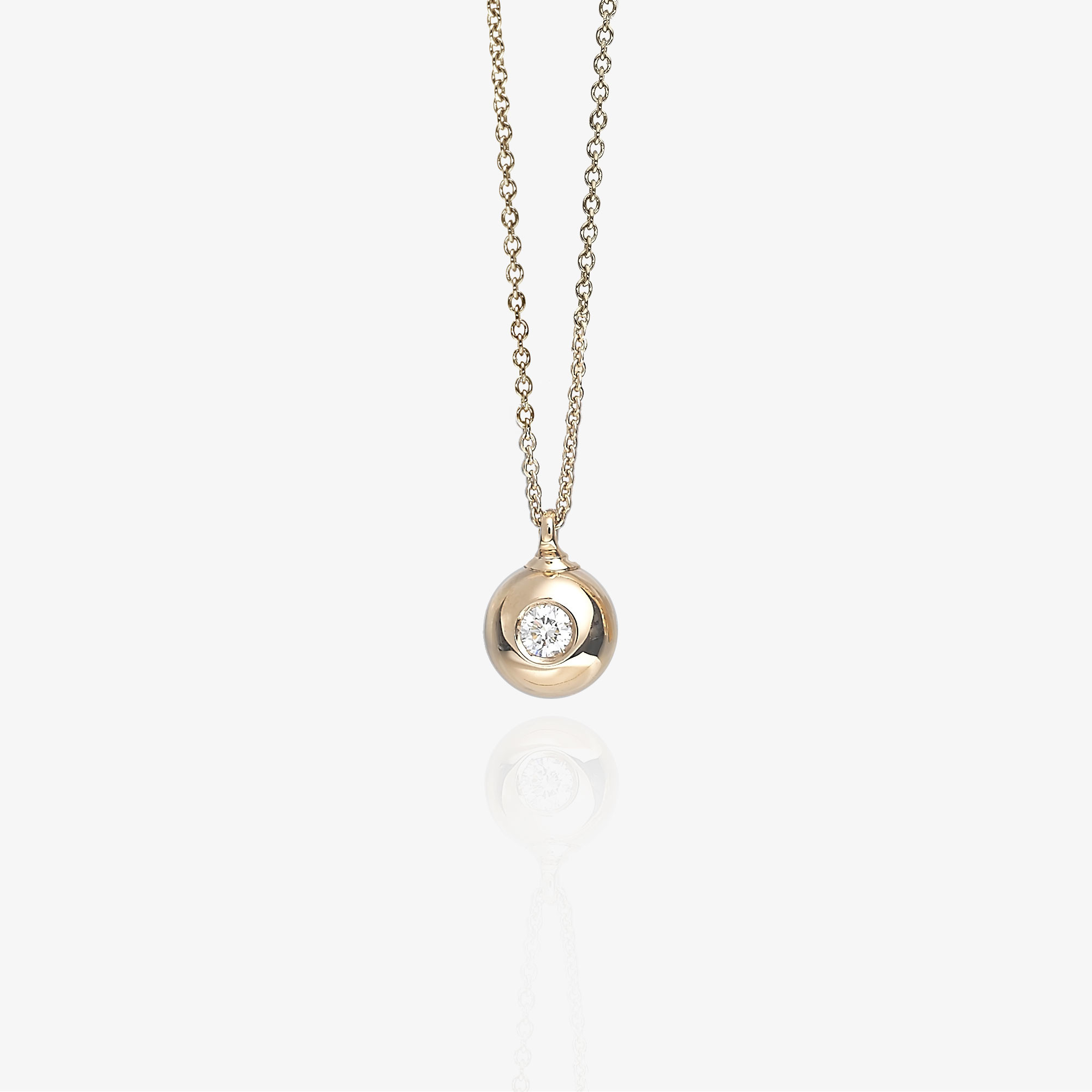 Sphere necklace